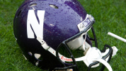 NU Football Helmet