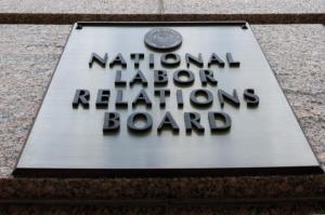 National Labor Relations Board Building Sign
