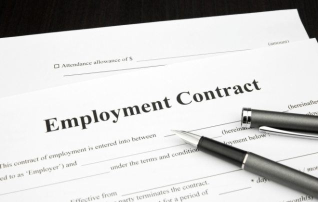 employent contract